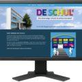 Gestaltung One-Page Website für Verein De Schul' Krumhermersdorf