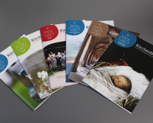 Gestaltung Kirchenbote für Marienkirchgemeinde im Striegistal