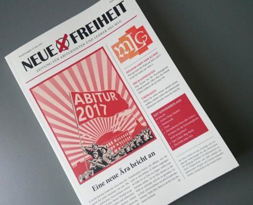 Gymnasium Frankenberg, 128 Seiten, Inhalt MunkenPrint 90g / Umschlag MunkenPure 300g, Softcover mit Fadenheftung