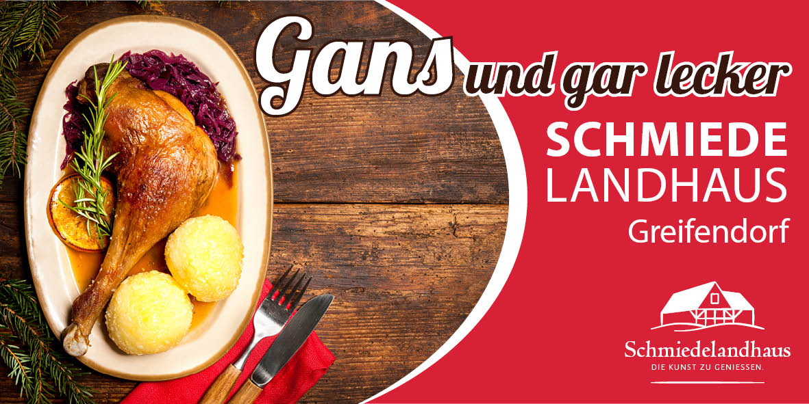 Bannerkampagne für Schmiedelandhaus Greifendorf