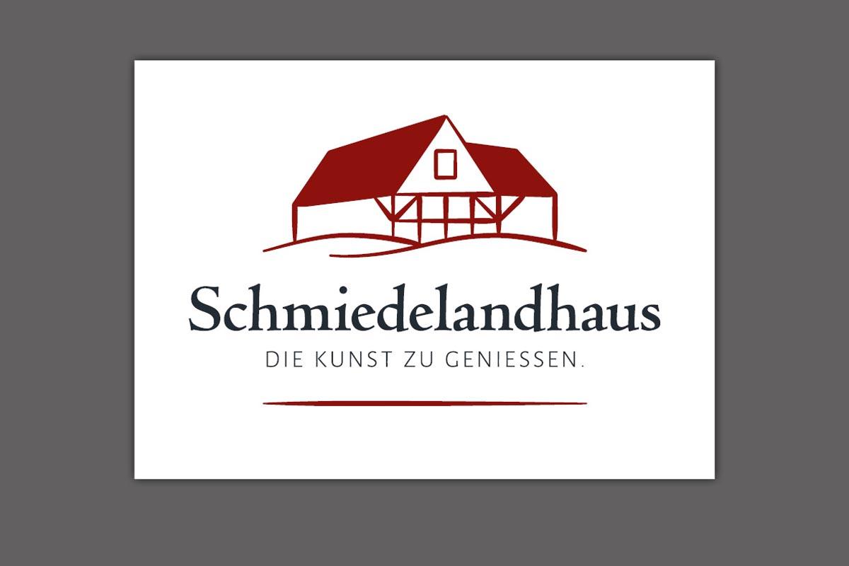 Corporate Design, Logo für Schmiedelandhaus Greifendorf