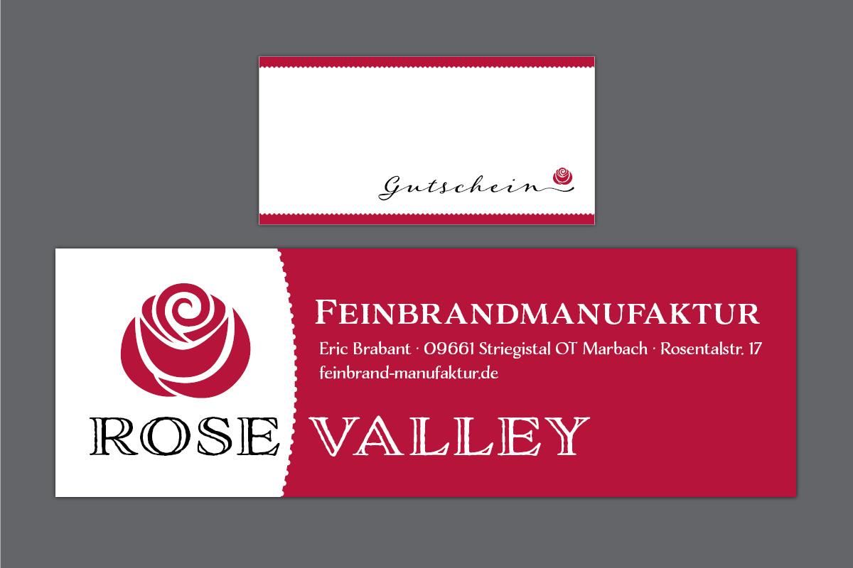 Gestaltung Banner, Gutscheinkarte für Feinbrandmanufaktur Brabant Marbach