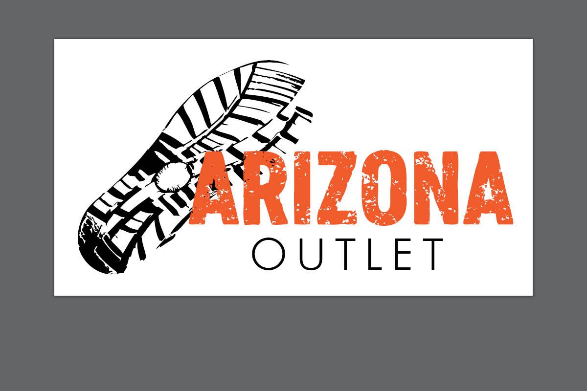 Gestaltung Logo für Arizona Outlet Döbeln