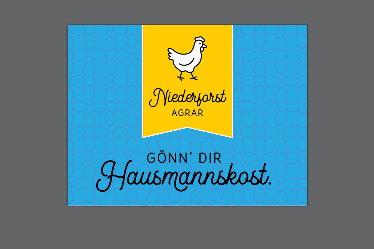 Gestaltung Logo für Niederforst Agrar Schumann
