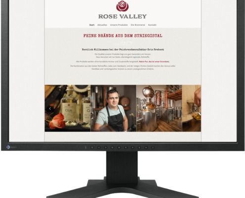 Gestaltung Website für Feinbrandmanufaktur Brabant in Marbach