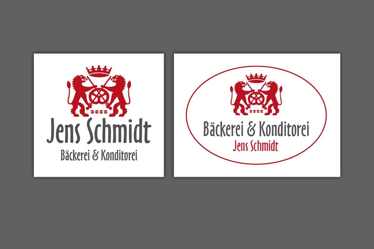 Corporate Design, Logo für Bäckerei Schmidt, Roßwein