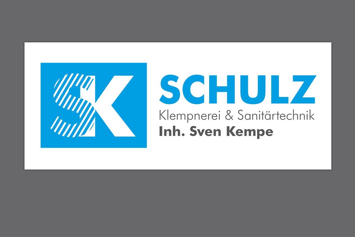 Gestaltung Logo für Klempnerei Schulz (Kempe), Roßwein-Seifersbach