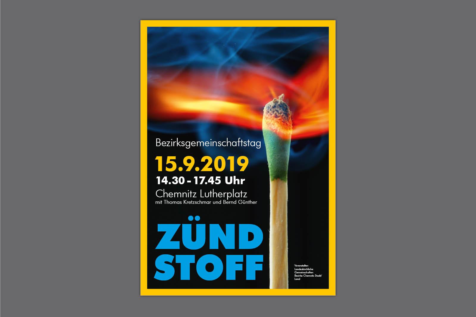 Plakat für Veranstaltung Landeskirchliche Gemeinschaft