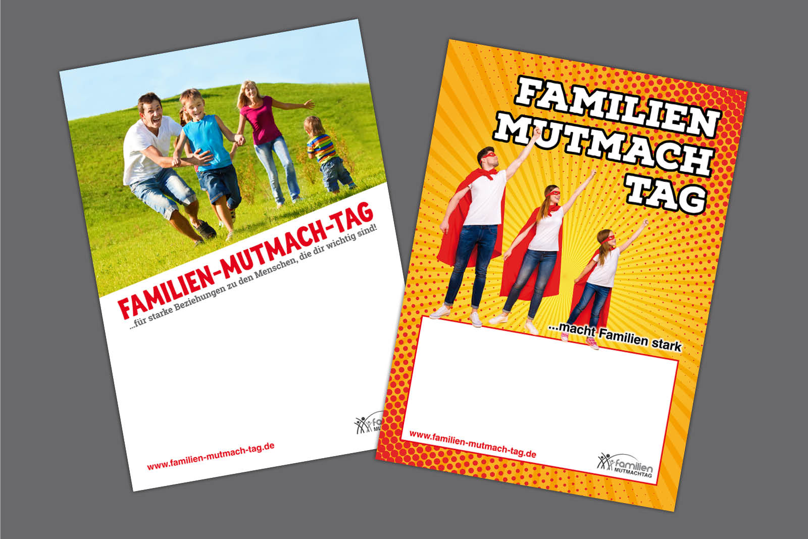 Layouts für Familienmutmachtag