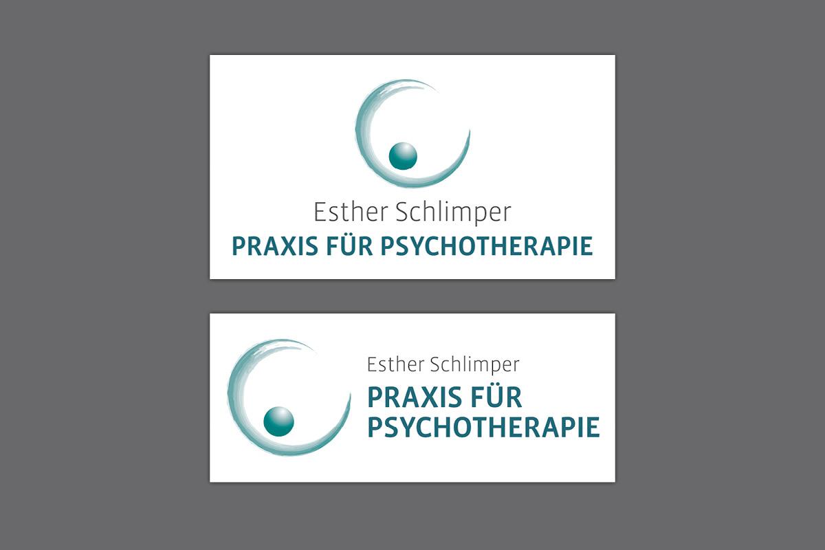 Logo Wort-Bildmarke für Esther Schlimper