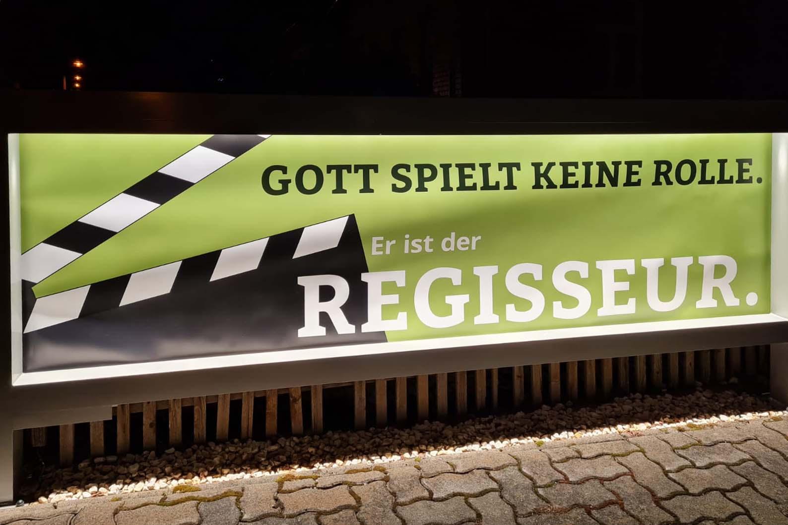 Banner LKG Hammerbrücke