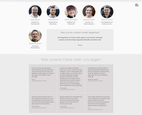 Website für Schmiedelandhaus Greifendorf, https://schmiedelandhaus.de